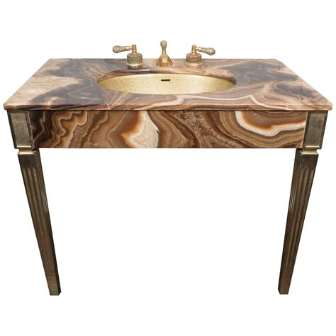 Vintage Bathroom Vanities For Sale by Marble Vintage Bathroom Vanity With Gold Glitter