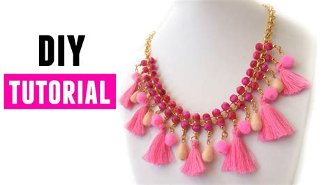 how to make statement jewelry how to make a statement necklace diy jewelry