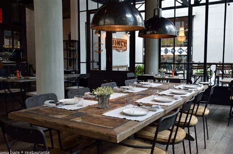 Communal Dining Room by Quince Eatery Bar Popular Restaurant In Bangkok Asia