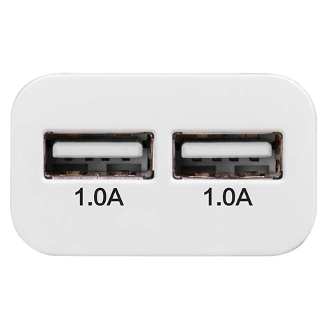 Charger Hoco Uh202 Dual Usb Port Charger 1 A Hoco Uh202 Dual Usb Port Charger Eu 1 0a