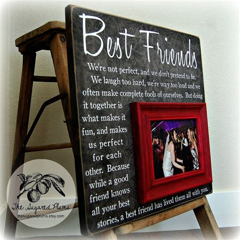 Wedding Gift For Best Friend by Best Friend Gift Gift Bridesmaid Gift Girlfriends