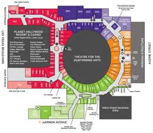 planet hollywood las vegas floor plan theatre inside planet hollywood located in miracle mile of