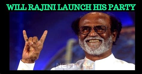 actor rajinikanth party name rajinikanth to announce his party name on this special day