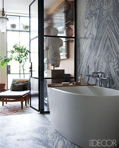 elle decor bathrooms made to measure a loft apartment by len morgan loft
