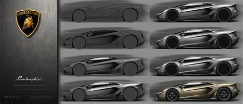 lamborghini sketch side view artstation lamborghini concept side sketch render wip