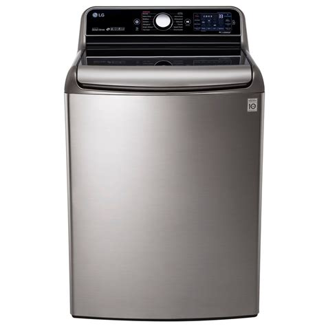lg 6 6 cu ft high efficiency top load washer with