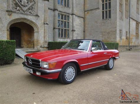mercedes benz sl immaculate condition