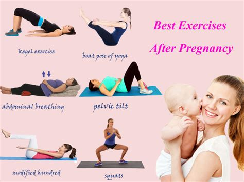 5 best postnatal exercises tummy flatenning exercises