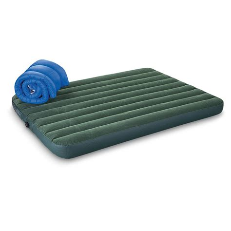 intex air beds intex queen c airbed with pump 233906 air beds at sportsman s guide