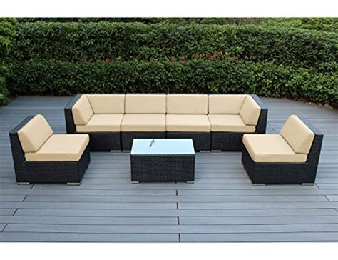 sunbrella sectional sofa ohana collection 7 ohana outdoor patio wicker