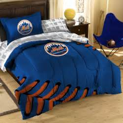 7pc new york mets full bedding set mlb ny baseball
