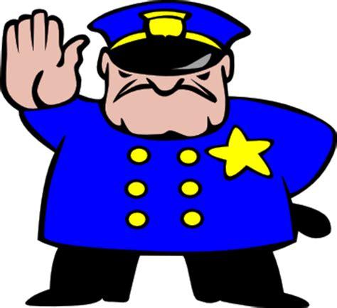 Clip On Hard Hat Lights Cartoon Police Officer Photos