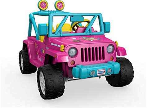 kids barbie jeep power wheels barbie jeep wrangler kids cars