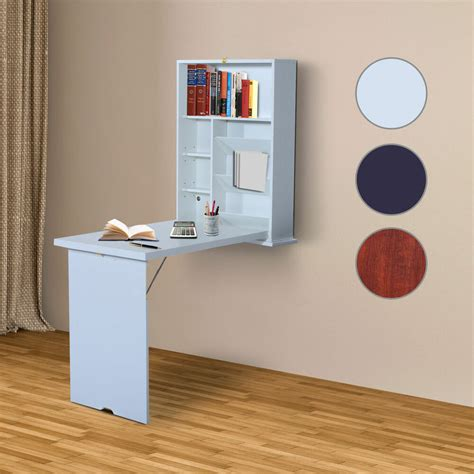 Wall Mounted Folding Desk by Wall Mount Writing Table Convertible Folding Computer Desk