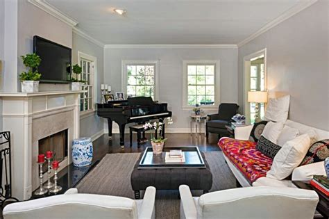 living room with piano traditional living room with grand piano traditional