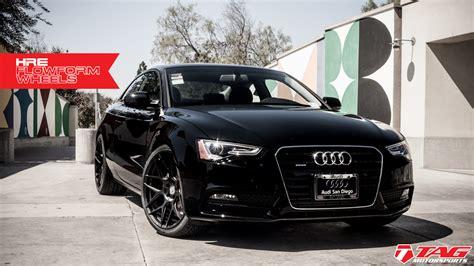 Audi A5 2014 Black by Black On Black 2014 Audi A5 On Hre Ff01 Wheels Tag