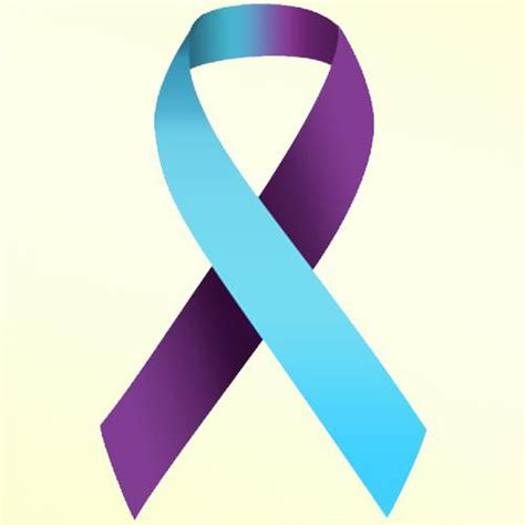depression ribbon color awareness ribbon www pixshark images