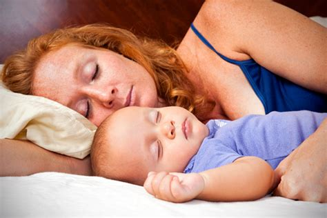 sleeping with baby in bed co sleeping benefits of the family bed