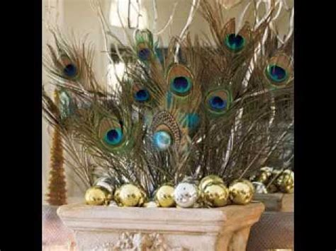simple peacock decorating ideas
