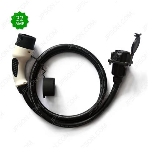 J1772 to 62196 Type 2 Extension Cord 32A for Electric ... J1772