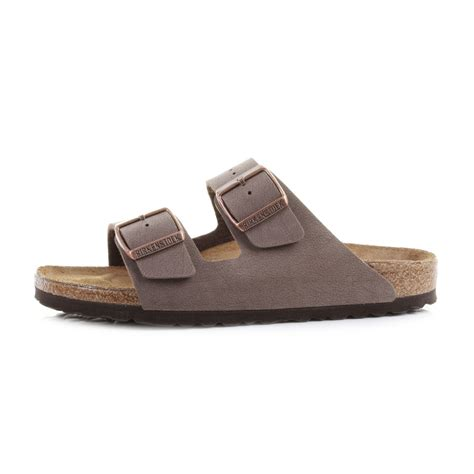 brown two sandals mens birkenstock arizona mocca brown comfort two
