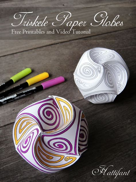 Paper Balls Craft - best 25 paper ideas on lessons