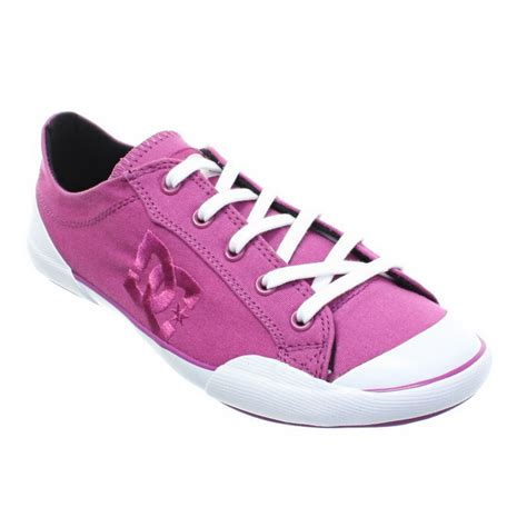 womens dc sneakers womens dc shoes chelsea zero low purple wine lace up