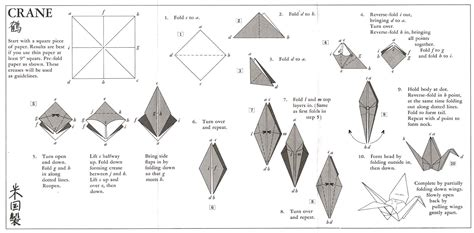 Steps To An Origami Crane - ai nihon 愛日本 origami farmofminds