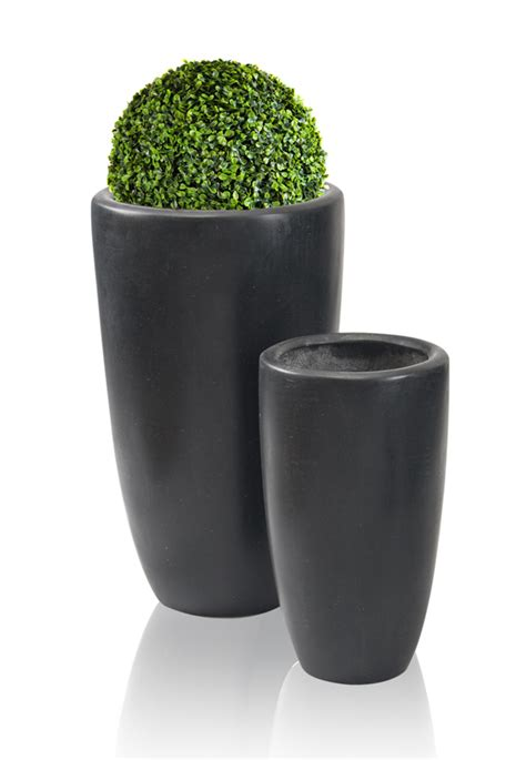Polystone Planters by Black Ambler Polystone Planter Mixed Set Of 2