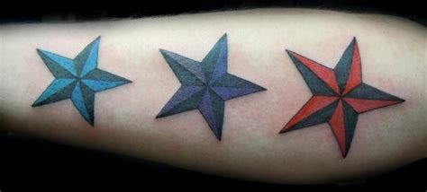 3 star tattoo designs 15 inspirational nautical images pictures and