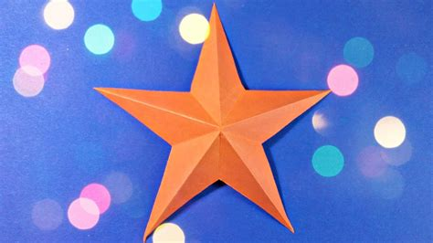 3d origami christmas star tutorial 3d origami christmas star paper easy tutorial for kids