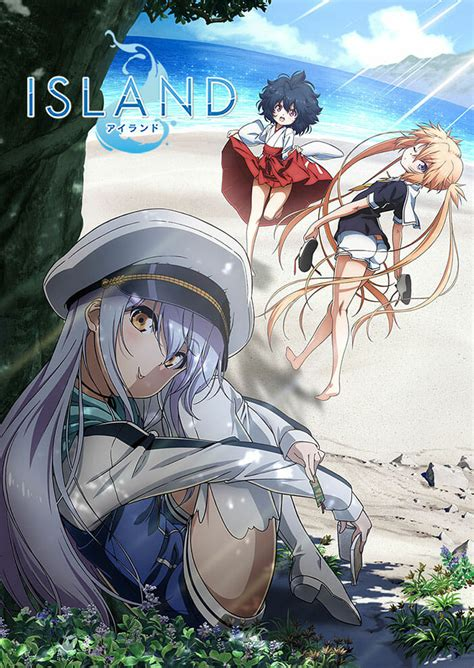 island anime   key visual anime herald