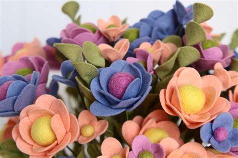 cara membuat bunga dari kain flanel yang simple contoh kerajinan tangan bunga dari kain flanel banyak