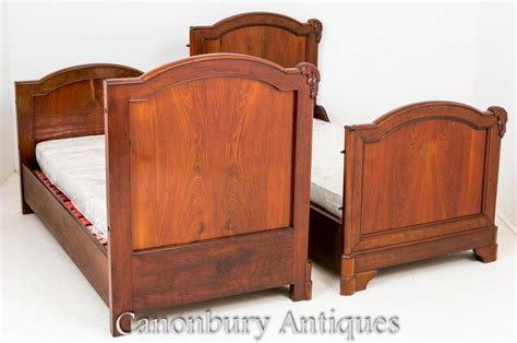 Antique Bedroom Furniture Uk Antique Mahogany Bed Carved Bedroom Furniture 1870 Ebay