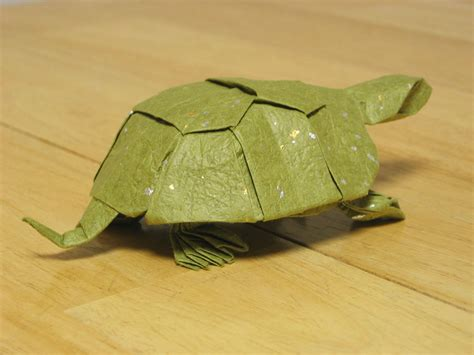 How To Fold Origami Turtle - may 2008 zing