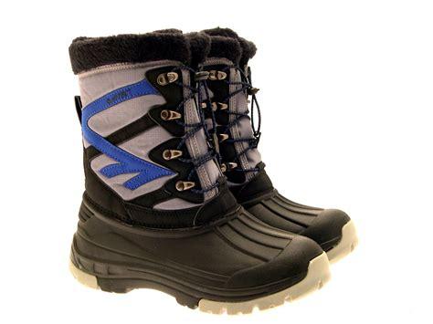 hi tec snow boots mens hi tec avalanche womens mens boys winter snow boots