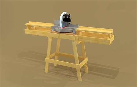 miter saw stand plans teds woodworking review