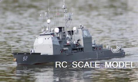 rc gas boat cg huge rtr rc radio control uss bunker hill cruiser ship