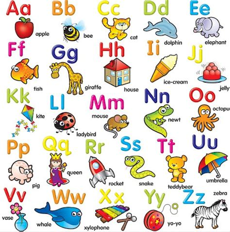 imagenes en ingles del abecedario im 225 genes del abecedario letras dibujos fotos para