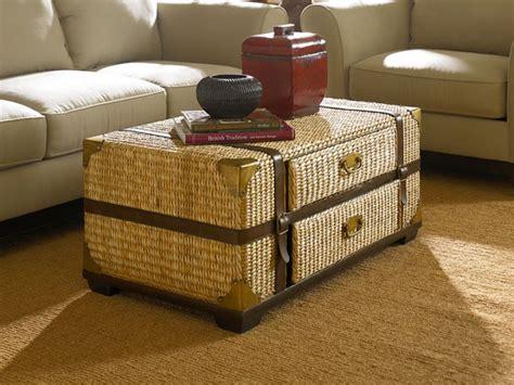 18 Elegant Trunk Coffee Table Designs Rattan Coffee Table Trunk