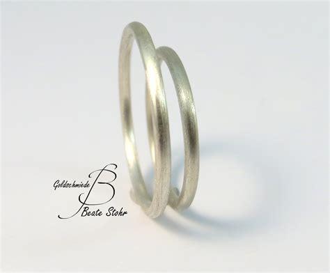 Verlobungsringe Silber Paar by Verlobungsringe Schlicht Silber Traumschmuckwerkstatt Shop