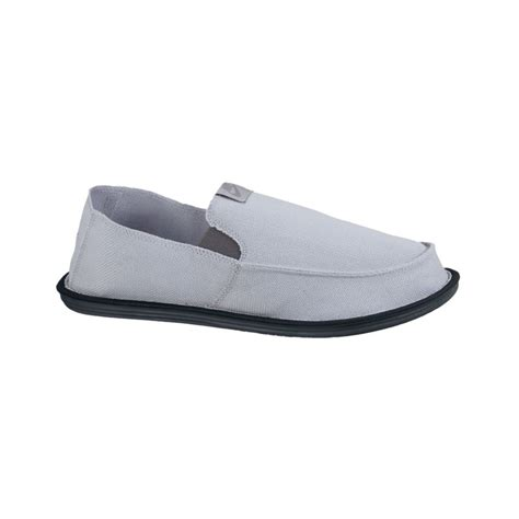 Nike Slip On nike solarsoft lakeside slip on shoes in gray for