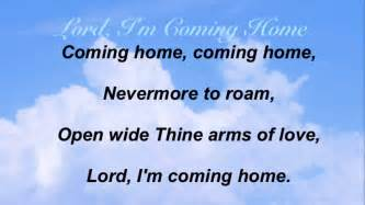 lord i m coming home baptist hymnal 309
