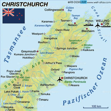 map world chch map of christchurch new zealand map in the atlas of