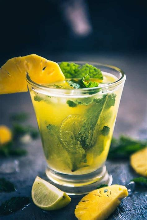 pineapple mojito recipe pineapple mojito recipe how to