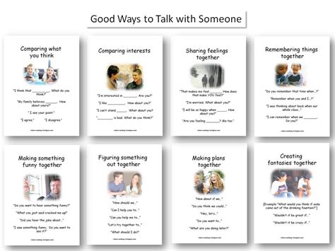 Worksheets For Autism Social Skills by 11 Wall Displays Visual Tools For Autism Social Skills