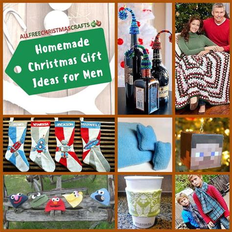 Handmade Gift Ideas For Guys - 25 gift ideas for