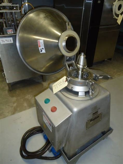 Mc 15 I stephan microcut mc15 cutter emulsifier at wohl associates