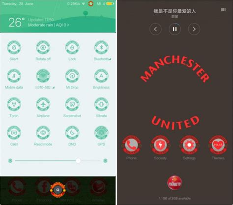 miui themes windows 10 the red devils miui 8 theme for manchester united fans