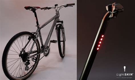 best bicycle tail light lightskin built in bicycle led tail light design is this